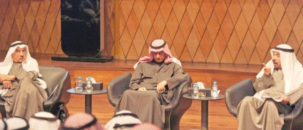 مركز «جابر الثقافي» استعرض سيرة الشاعر عبدالعزيز البابطين