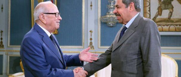 البابطين يلتقي الرئيس التونسي بقصر قرطاج
